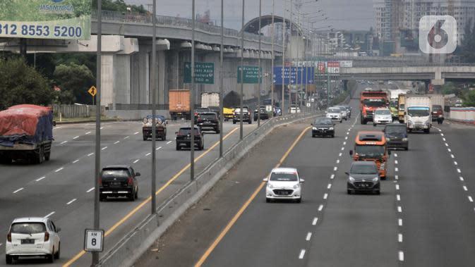 Kendaraan Meninggalkan Jakarta di Sejumlah Gerbang Tol Menurun