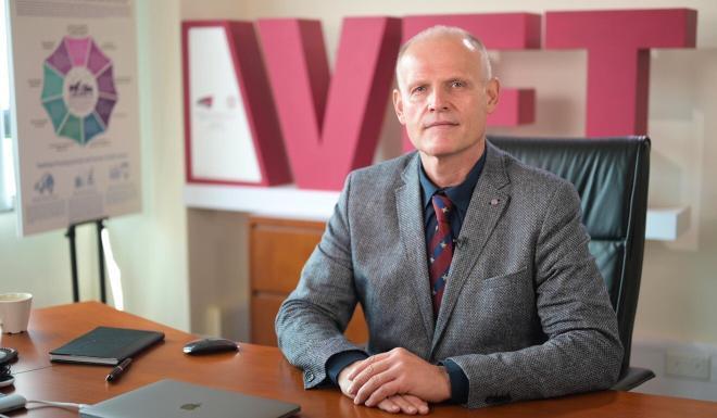 Professor Nikolaus Osterrieder, dean of CityU's college of veterinary medicine and life sciences. Photo: Handout