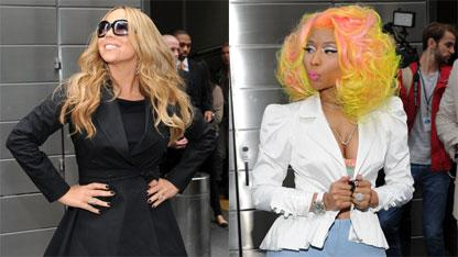 Nicki Minaj Bashes Mariah Carey, Addresses 'Idol' Feud In New Song