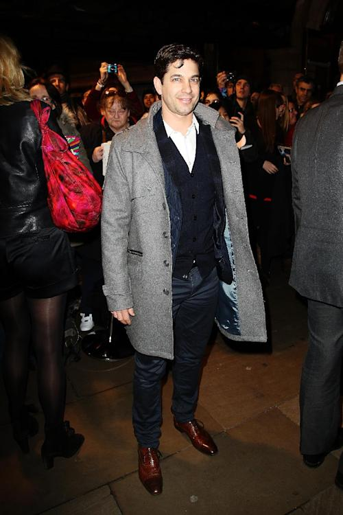 Adam Garcia seen at the Whatsonstage.com Theatregoers' Choice Awards at The Palace Theatre on Sunday, Feb. 17, 2013, in London. (Photo by Miles Willis/Invision/AP)