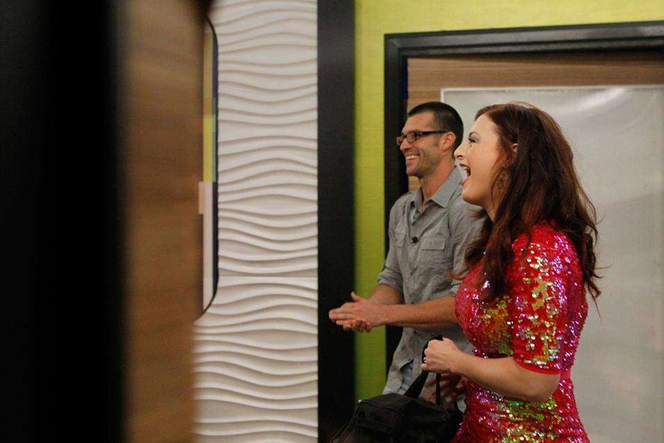 Behind the scenes footage from Big Brother 14: Press Day.