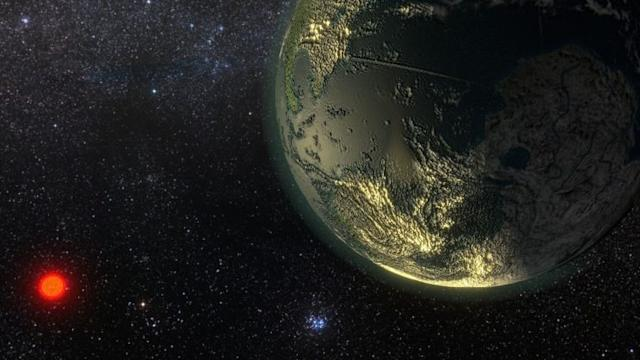 It's a bit toasty on the newly-discovered super-Earth [PA/University of Hertfordshire]