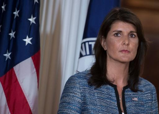 """""""The Syrian regime's violations of the ceasefire in southwest Syria need to stop,"""" US Ambassador to the UN Nikki Haley said in a statement"""