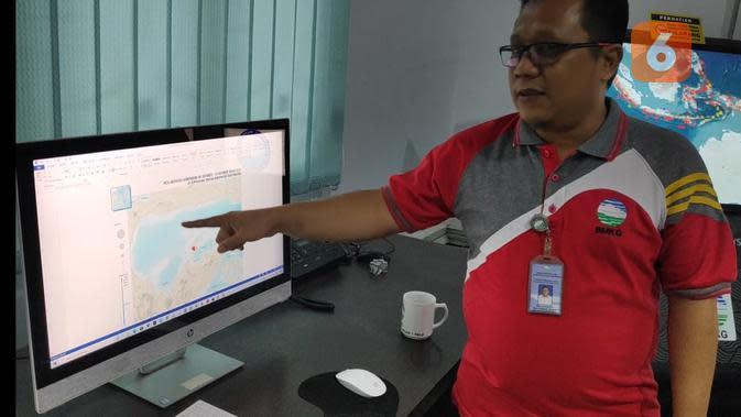 Awas, Ada Sesar Misterius Sedang Aktif di Selatan Kepulauan Togean