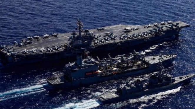 VIVA Militer: Kapal perang Jepang dan Amerika.