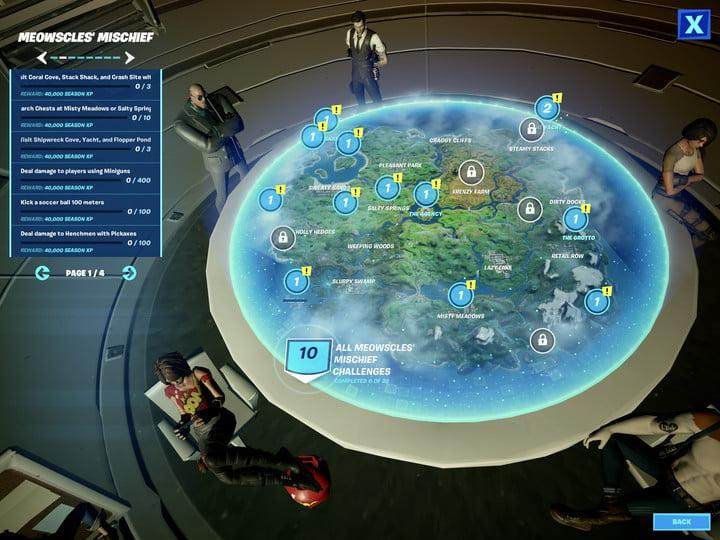 Fortnite Season 2 Week 5 Challenges