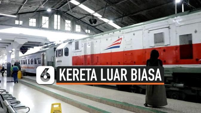 VIDEO: PT KAI Operasikan Kereta Luar Biasa Mulai 12 Mei