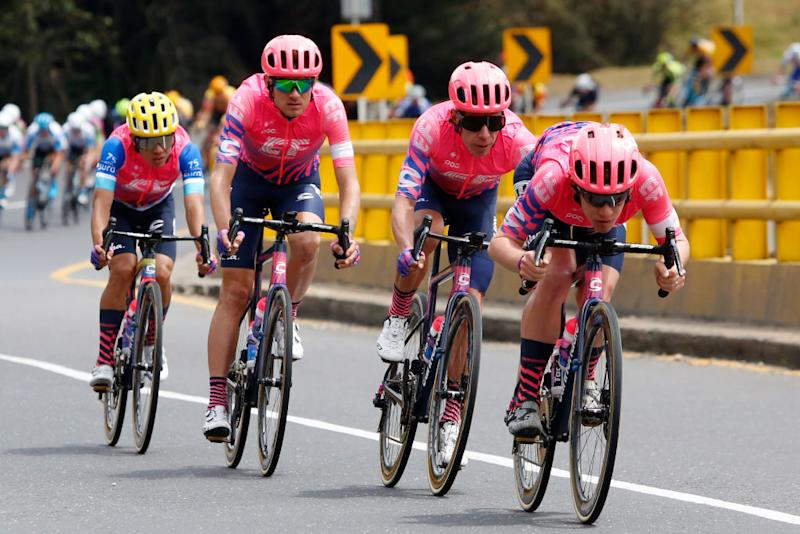 EF Pro Cycling work hard for Sergio Higuita at the 2020 Tour Colombia 2.1