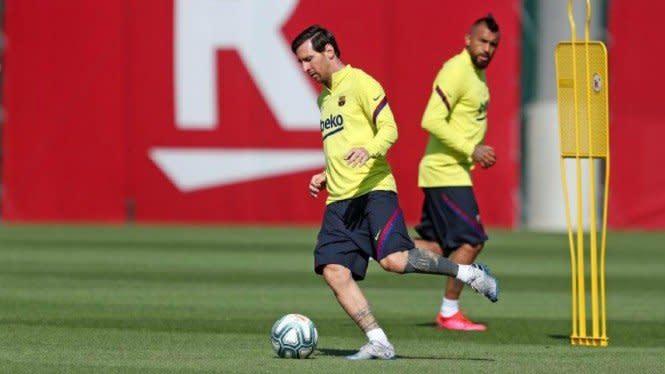 Barcelona Serius dengan Lionel Messi, Ingin 2 Tahun Lagi