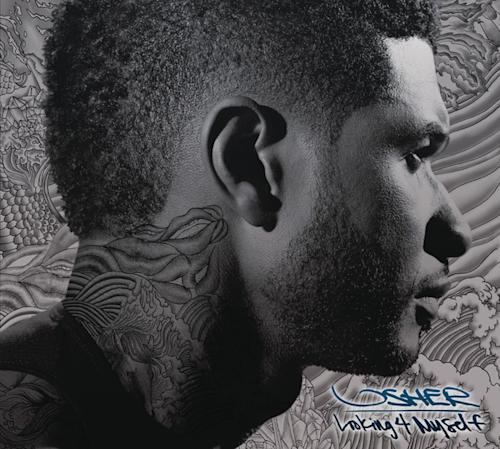 """This CD cover image released by RCA Records shows the latest release by Usher, """"Looking 4 Myself."""" (AP Photo/ RCA Records)"""