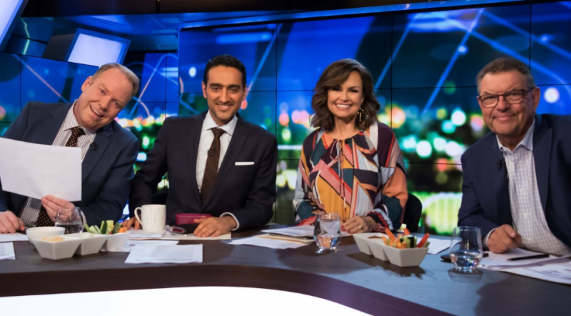 Lisa Wilkinson joined The Project on Channel Ten at the start of 2018 after leaving Today on Channel Nine at the end of 2017