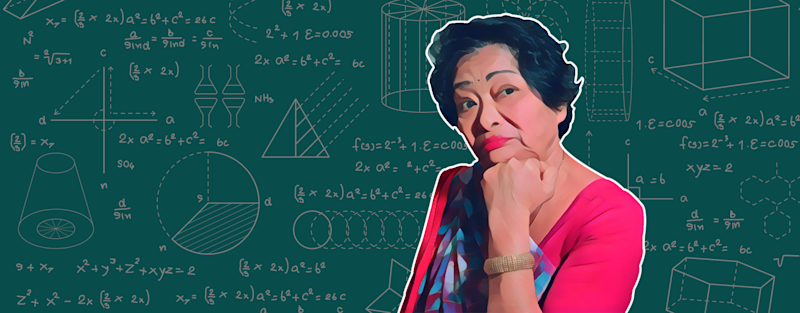 We pay tribute to math genius Shakuntala Devi on National Mathematics Day. Her belief, that fear of math was born from the wrong approach and that the subject had to be looked at with a spirit of curiosity, continues to inspire generations.
