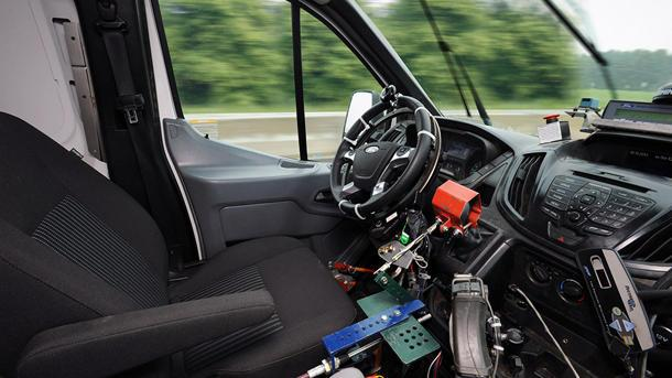 Ford enlists robots to drive trucks in tests too tough for humans