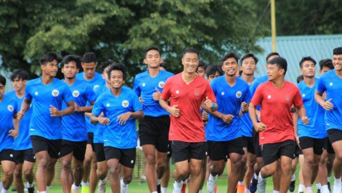 Timnas Indonesia U-19 latihan di Kroasia. (PSSI).