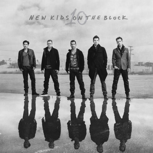 "This CD cover image released by The Block shows ""10"" by New Kids on the Block. (AP Photo/The Block )"