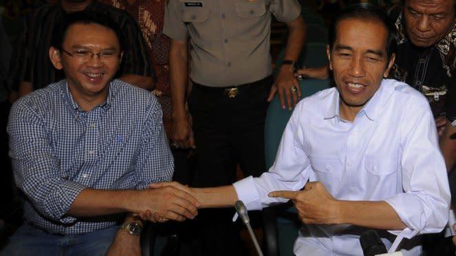Jokowi dan Ahok.
