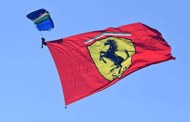 Motor racing-Ferrari mark 1,000th race with pride, pain and a Schumacher
