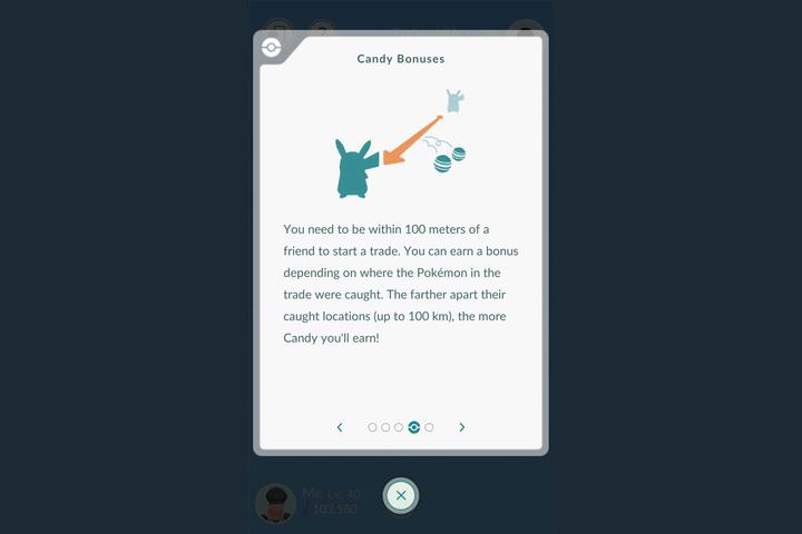 pokemon go update candy bonus