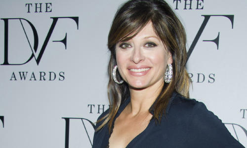 FILE - In this March 9, 2012 file photo, Maria Bartiromo attends The Third Annual DVF Awards held at the United Nations in New York. Bartiromo's contract will end Nov. 24, concluding 20 years with CNBC, the channel said Monday, Nov. 18, 2013. (AP Photo/Charles Sykes, File)