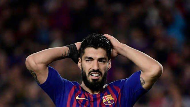Haru, Anak Suarez Ikut Larut di Perpisahan dengan Barcelona