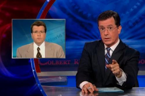 Stephen Colbert Calls Fox News' Neil Cavuto '11th Plague,' 'Imaginary Newsman' (Video)