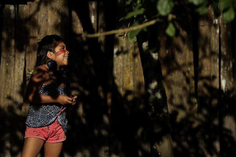 Virus Outbreak Brazil - Indigenous