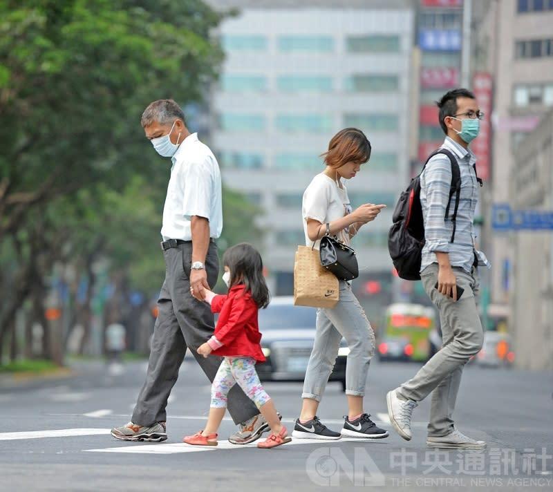 平均每天近8人因交通事故死亡,高齡年輕族群攀升。(中央社示意圖)