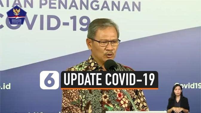 VIDEO: Update Corona 8 Juni, Kasus Positif 32.033, Sembuh 10.904, Meninggal 1.883