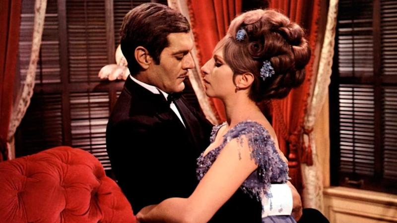 Omar Sharif and Barbra Streisand in Funny Girl