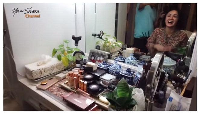 Kamar mandi Yuni Shara (Sumber: YouTube/Yuni Shara Channel)