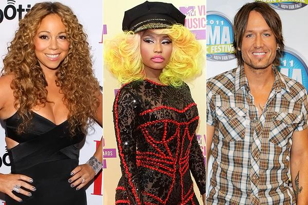 Nicki Minaj and Keith Urban Confirmed As American Idol Judges
