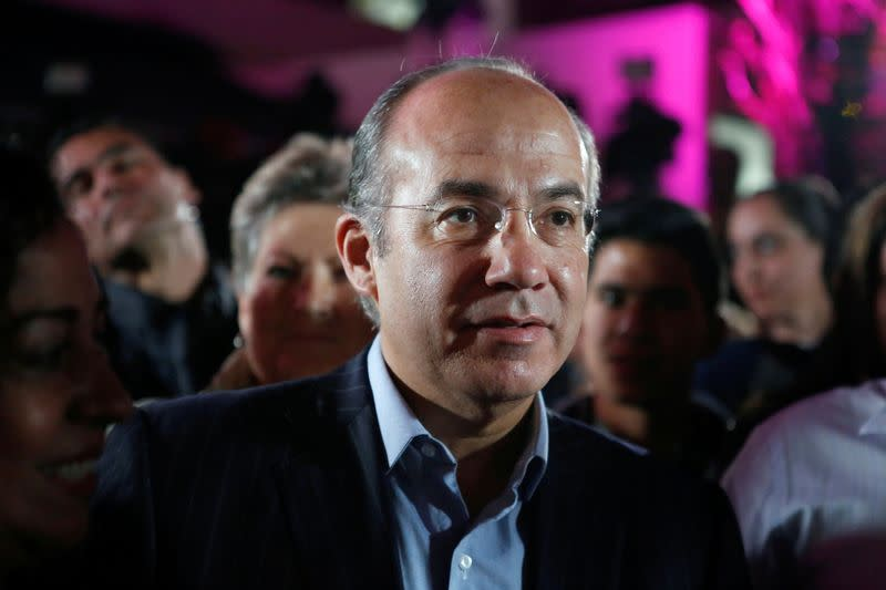 Mexico rejects ex-President Calderon's bid to register new political party