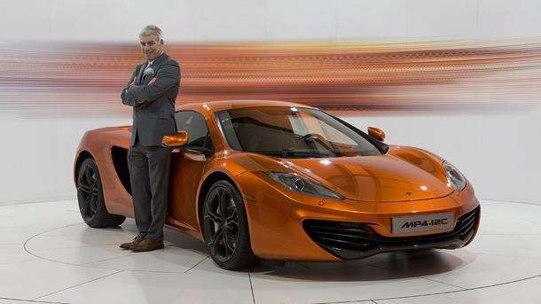 McLaren designer Frank Stephenson on what looks right: Motoramic Q&A