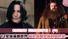 十二星座的巫師世界!在魔法世界裡,妳會是《哈利波特》裡的他!(中)