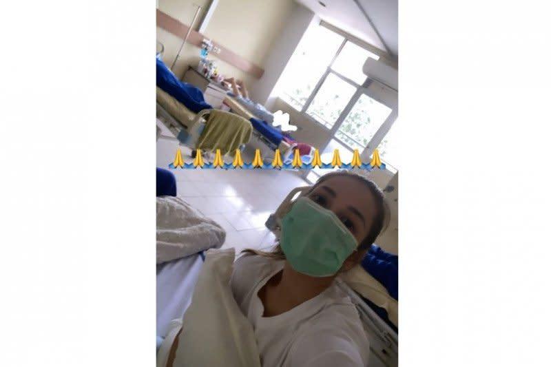 Kondisi ruang isolasi Andrea Dian di rumah sakit