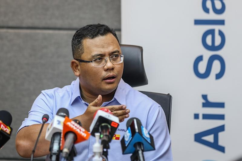Selangor Mentri Besar Datuk Seri Amiruddin Shari said the state has agreed to amend the Selangor Water Management Authority (LUAS) enactment to deter future polluters.. ― Picture by Firdaus Latif