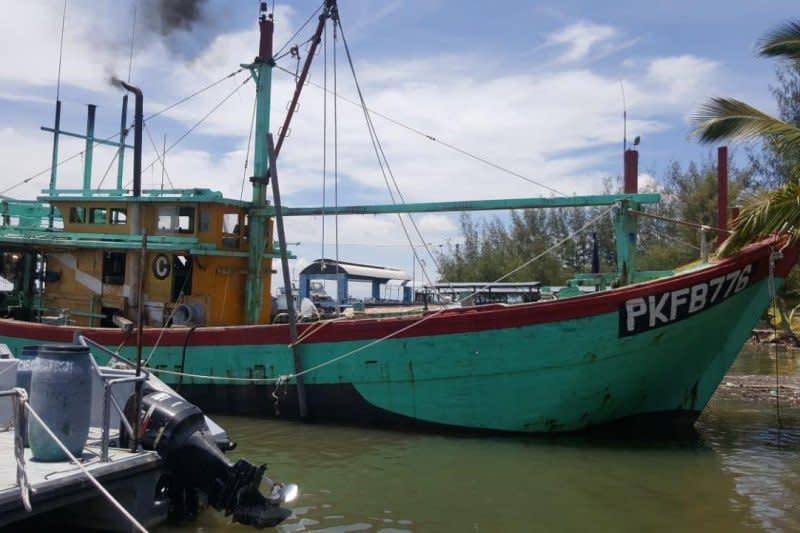 KKP rampungkan penyidikan dua kapal pencurian ikan di Selat Malaka