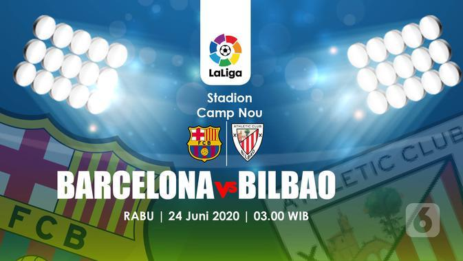 Link Live Streaming La Liga: Barcelona Vs Athletic Bilbao di Vidio