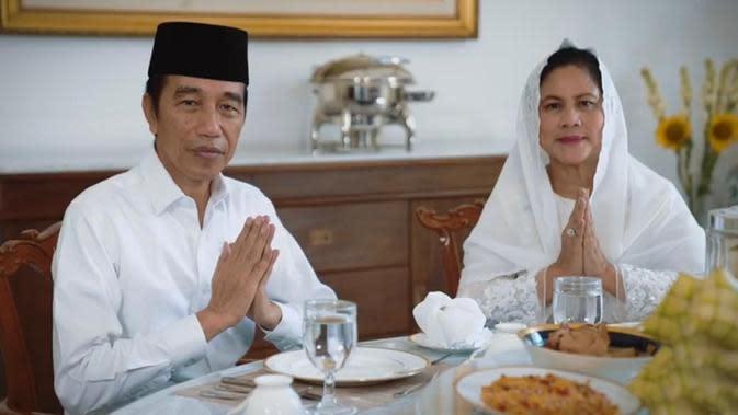 PesanIdul Fitri Presiden Jokowi di Tengah Pandemi