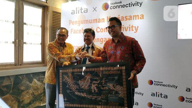 Alita dan Facebook Kerja Sama Perluas Jaringan Fiber Optik di Indonesia