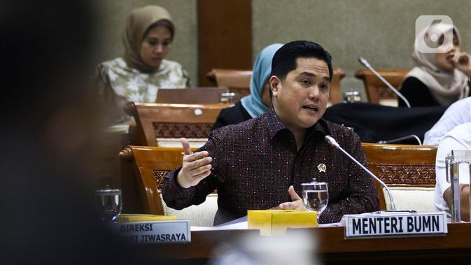 Erick Thohir Pangkas 51 Anak dan Cucu Usaha Garuda, Pertamina dan Telkom