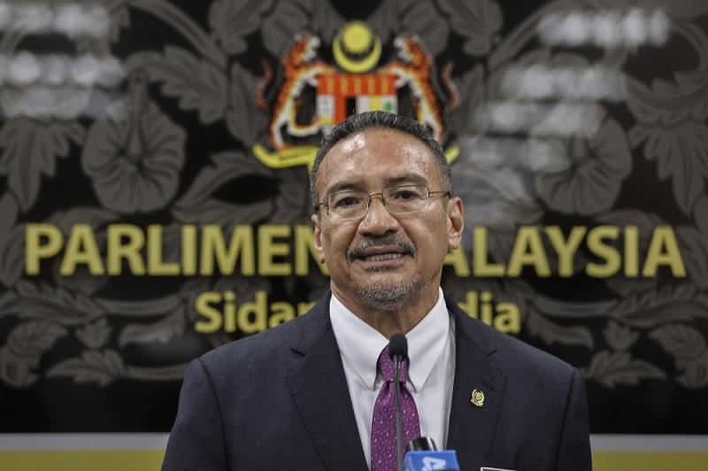 Foreign Minister Datuk Seri Hishammuddin Hussein said he has admitted it was a mistake and also apologised for the offence when the issue was raised by Wong Shu Qi (Kluang-PH) at the Dewan Rakyat sitting earlier today. ― Picture by Miera Zulyana