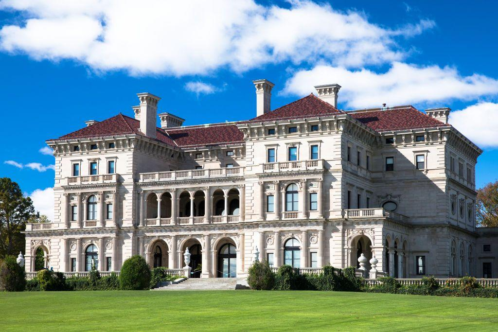 """<p>The Breakers was built in 1895 for Cornelius <a href=""""https://www.housebeautiful.com/design-inspiration/celebrity-homes/g28071870/vanderbilt-family-homes/"""">Vanderbilt</a> II, and it is currently the most visited site in all of Rhode Island, garnering nearly half a million visitors in 2017. This iconic Newport mansion is a work of Italian Renaissance Revival architecture designed by Richard Morris Hunt, who also helped design the Metropolitan Museum of Art's entrance and Great Hall, as well as the base of the Statue of Liberty. The interior design was done by Ogden Codman Jr. (who co-authored Edith Wharton's <a href=""""https://www.housebeautiful.com/design-inspiration/g31915353/design-books-to-read-during-quarantine/"""">The Decoration of Houses</a>) and Jules Allard and Sons. One of the many design elements of The Breakers includes marble that was imported from Africa and Italy.</p><p>Visitors to the Breakers will be required to wear face coverings, practice social distancing, and make online reservations in advance. Tours will be accompanied by either a self-guided audio (from the Newport Mansions app, which is free) with your own earbuds, or a paper copy of the tour script.</p>"""
