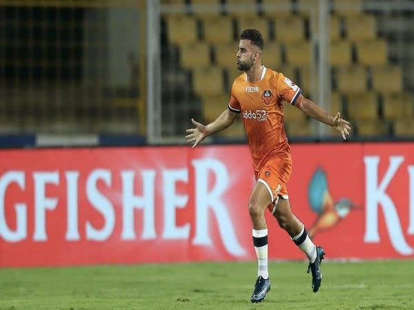 Midfielder Hugo Boumous (Photo/ Mumbai City FC)
