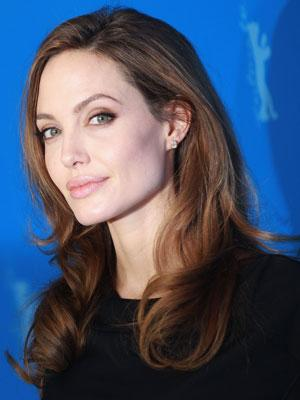Brad Pitt Plays a Supporting Role to Angelina in Berlin