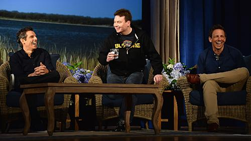 5 Funny Facts from Ben Stiller's Comedy Roundtable with Mike Myers and Seth Meyers