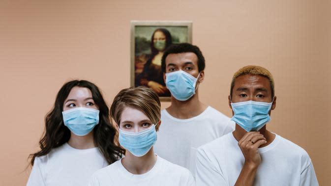 masker untuk menghindari virus corona   pexels.com/@cottonbro