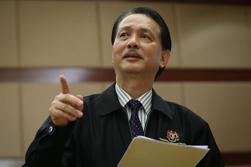 Health director-general Datuk Dr Noor Hisham Abdullah warned Malaysians against getting comfortable and complacent even as the trend of local cases decreased. — Picture by Yusof Mat Isa