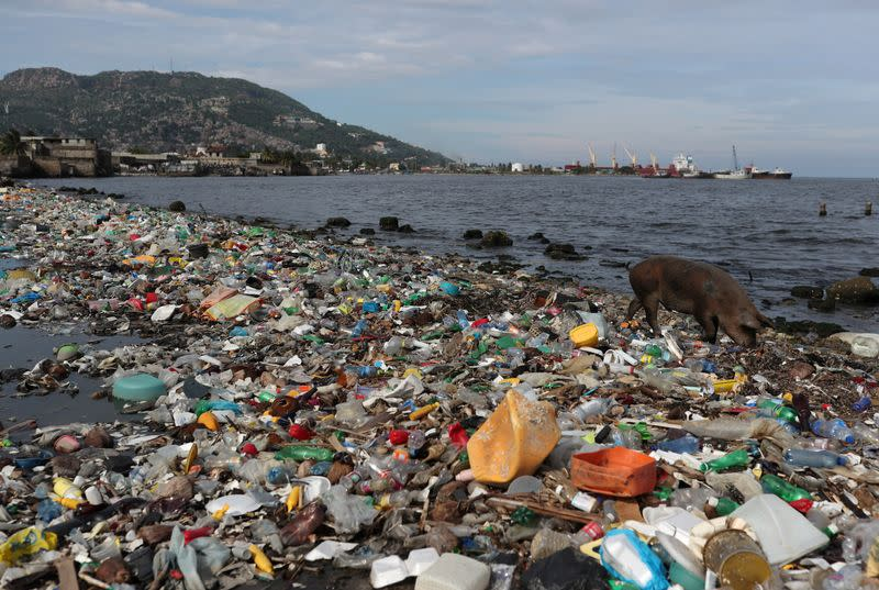 Plastic pollution flowing into oceans to triple by 2040 - study