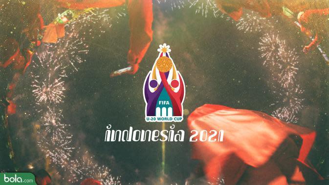 Logo Piala Dunia U-20 Indonesia 2021 (Bola.com/Adreanus Titus)
